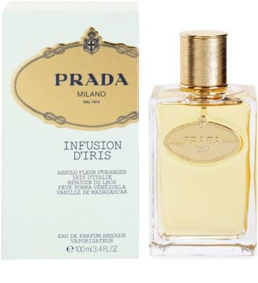 Prada Milano Infusion D'Iris Absolue Eau De Parfum pentru femei