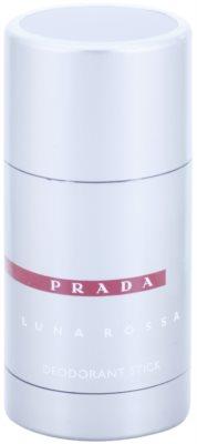 Prada Luna Rossa desodorizante em stick para homens