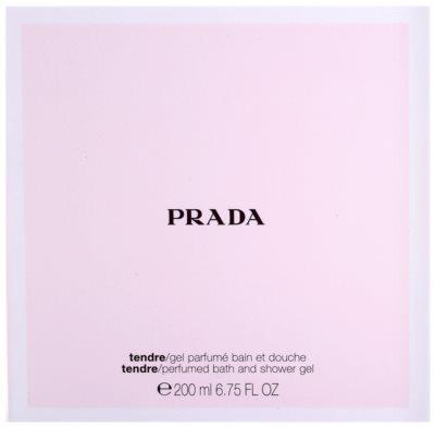 Prada Prada Tendre Duschgel für Damen 3