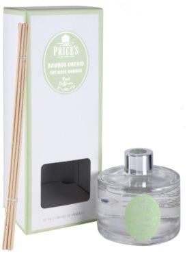 Price´s Bamboo Orchid difusor de aromas con el relleno