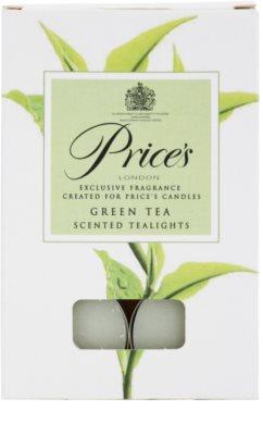 Price´s Green Tea świeczka typu tealight