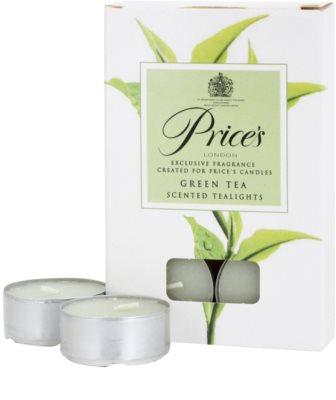 Price´s Green Tea świeczka typu tealight 2