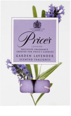 Price´s Garden Lavender vela do chá