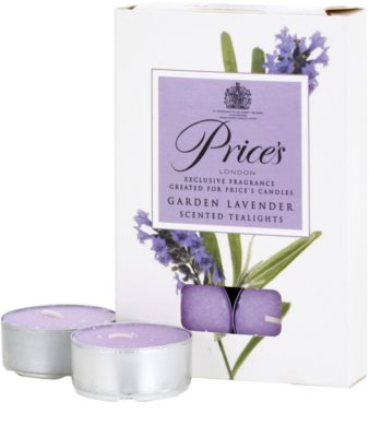 Price´s Garden Lavender vela do chá 2