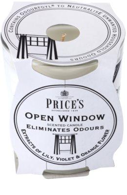Price´s Open Window vonná svíčka  střední 1