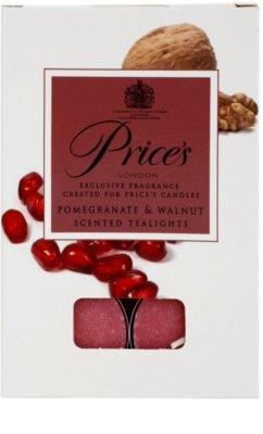 Price´s Pomegranate & Walnut čajová sviečka