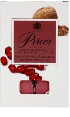 Price´s Pomegranate & Walnut lumânare