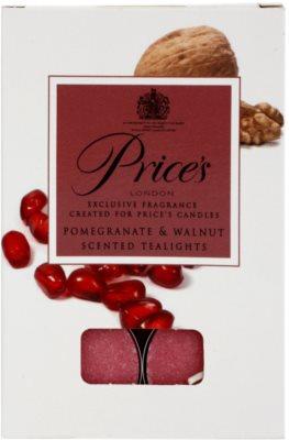 Price´s Pomegranate & Walnut vela do chá