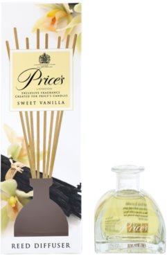 Price´s Sweet Vanilla aroma difuzor cu rezervã 2