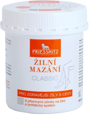 Priessnitz Classic mazání na žíly a cévy