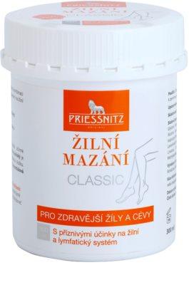 Priessnitz Classic mazanie na žily a cievy