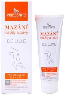 Priessnitz De Luxe mazanie na žily a cievy 1
