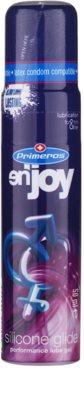 Primeros En'joy gel lubricante a base de silicona