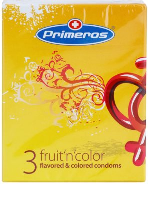 Primeros Fruit'n'color prezervative colorate cu aroma