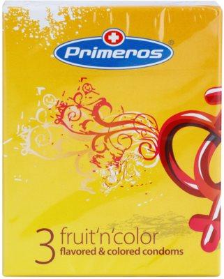 Primeros Fruit'n'color цветни презервативи с различен вкус