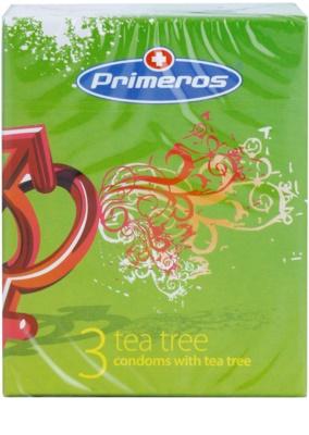 Primeros Tea Tree preservativos