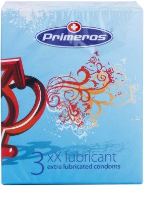 Primeros xX Lubricant preservativos con lubricación extra