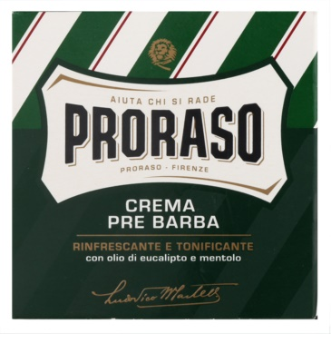 Proraso Green creme de pré barbear 2