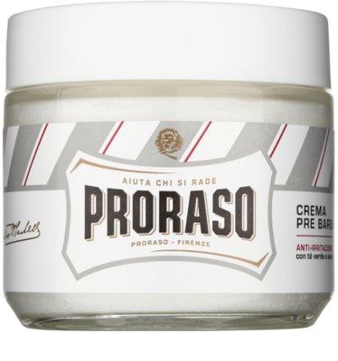 Proraso White Pre-Shave-Creme für empfindliche Haut