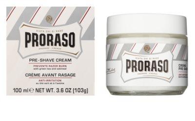 Proraso White Pre-Shave-Creme für empfindliche Haut 1