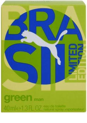 Puma Green Brasil Edition Eau de Toilette pentru barbati 4