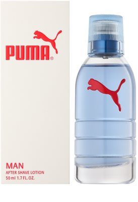 Puma Red and White after shave para homens