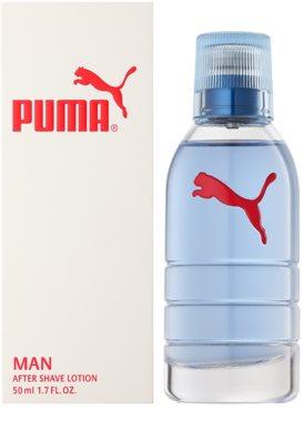 Puma Red and White borotválkozás utáni arcvíz férfiaknak
