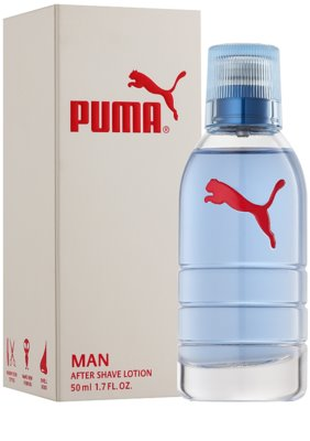 Puma Red and White after shave para homens 1