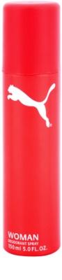 Puma Red and White deospray pentru femei