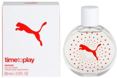 Puma Time To Play eau de toilette para mujer