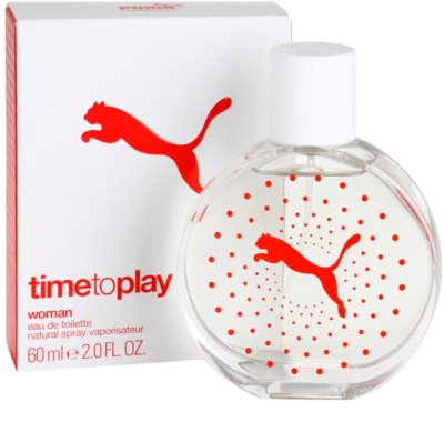 Puma Time To Play Eau de Toilette para mulheres 1