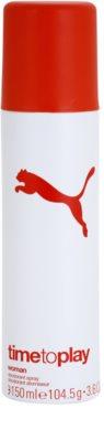 Puma Time To Play deodorant Spray para mulheres