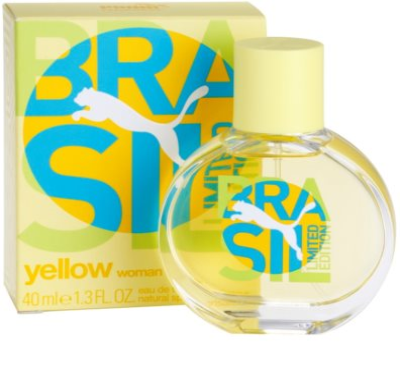 Puma Yellow Brasil Edition (2014) Eau de Toilette para mulheres 1