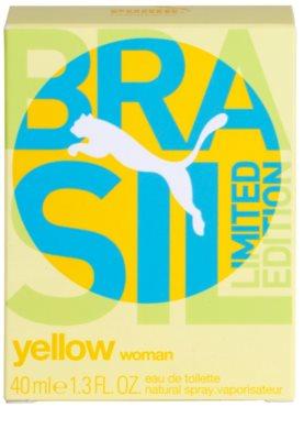 Puma Yellow Brasil Edition (2014) eau de toilette nőknek 4