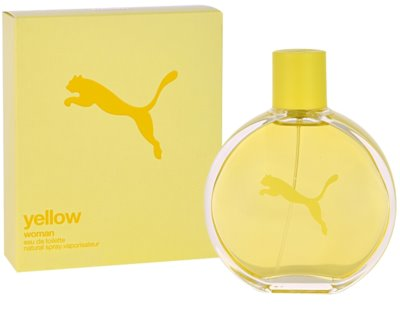 Puma Yellow Woman Eau de Toilette für Damen