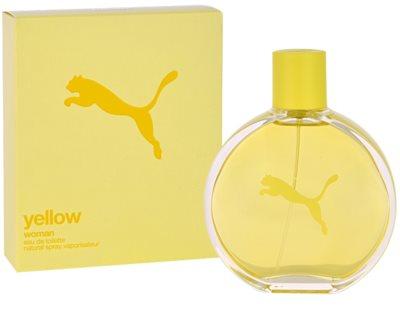 Puma Yellow Woman Eau de Toilette para mulheres