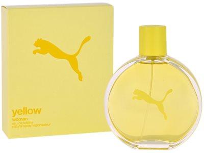 Puma Yellow Woman Eau de Toilette pentru femei