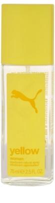 Puma Yellow Woman deodorant s rozprašovačem pro ženy
