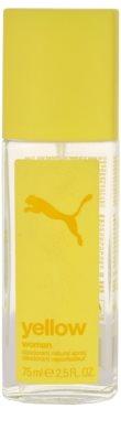 Puma Yellow Woman deodorant s rozprašovačom pre ženy