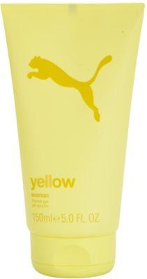 Puma Yellow Woman gel de duche para mulheres