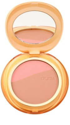 Pupa Blush & Bronze бронзер та рум'яна 2в1