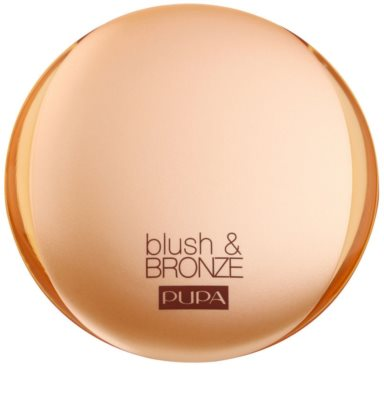 Pupa Blush & Bronze Bronzer und Rouge 2in1 1
