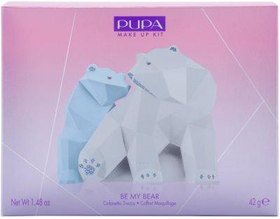 Pupa Be My Bear paletta az egész arcra 3