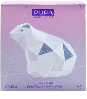 Pupa Be My Bear die Palette dekorativer Kosmetik mit Spiegel 2
