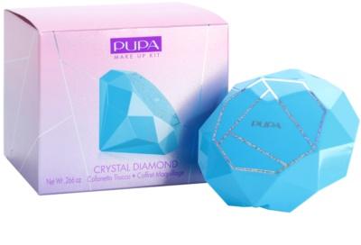 Pupa Crystal Diamond paletka pro celou tvář 2