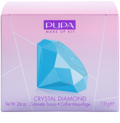 Pupa Crystal Diamond paletka pro celou tvář 3