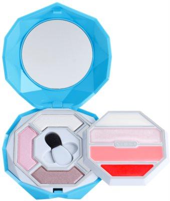 Pupa Crystal Diamond палетка для макіяжу обличчя