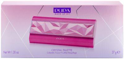 Pupa Snow Queen Crystal Palette paleta de cosméticos decorativos 3