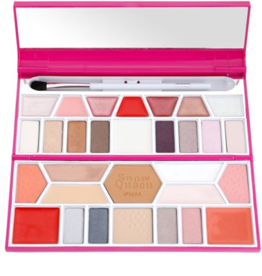 Pupa Snow Queen Crystal Palette gama de produse cosmetice make-up