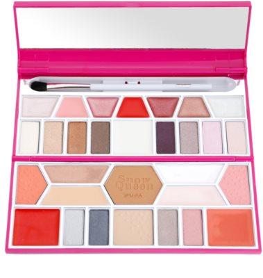 Pupa Snow Queen Crystal Palette paleta de cosméticos decorativos